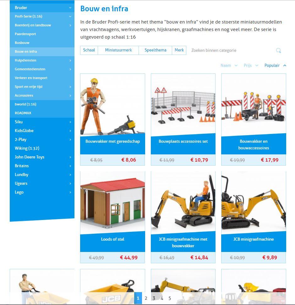 Webshop Bentoys speelgoed