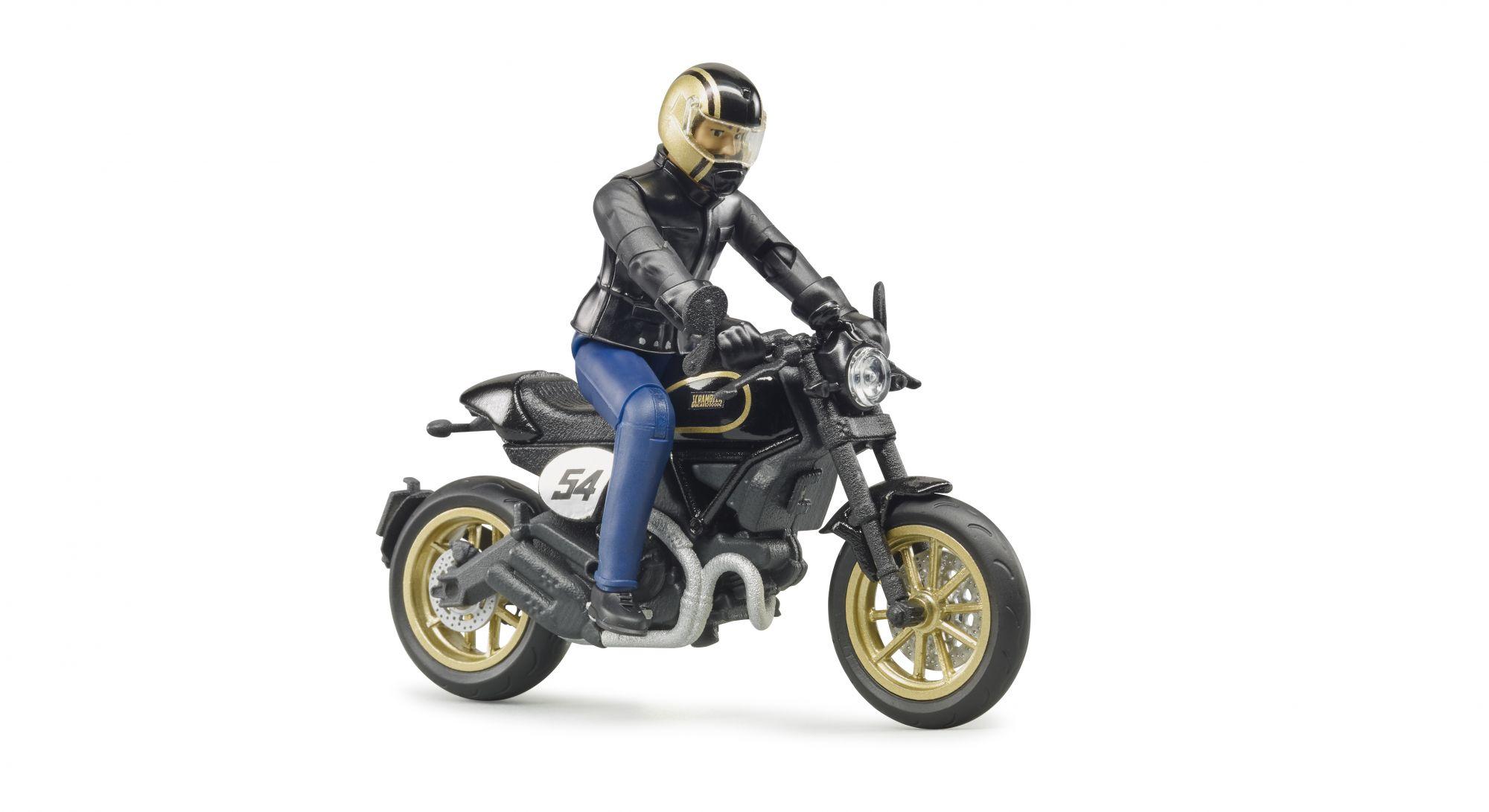 Bruder 63050 - Ducati Scrambler Cafe Racer motor