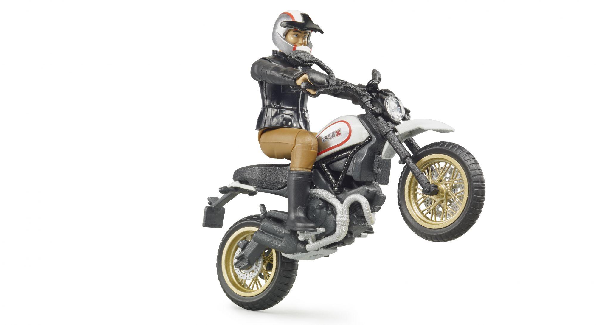 Bruder 63051 - Ducati Scrambler Desert Sled speelgoed motor