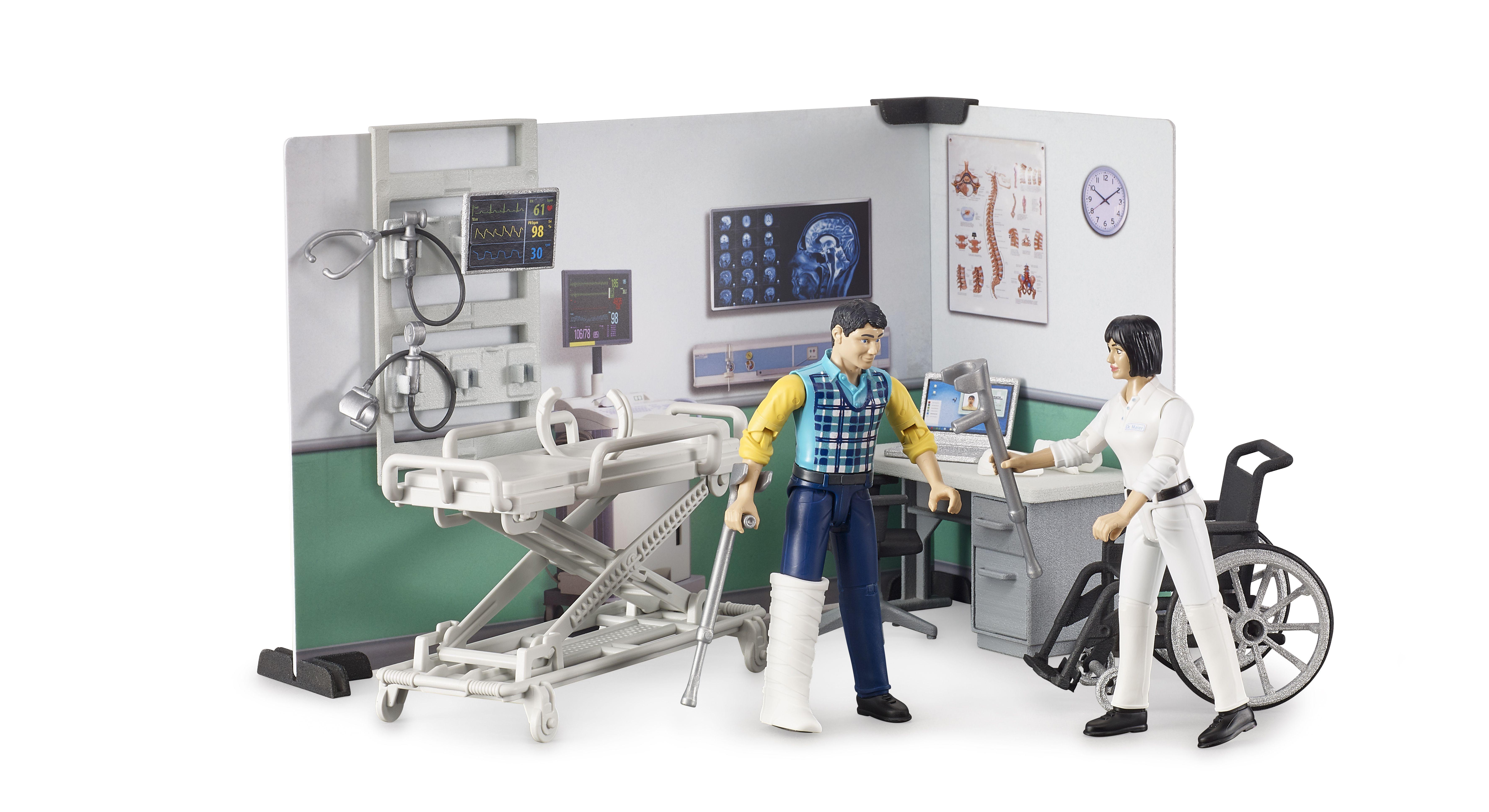 Bruder 62711 - Ziekenhuis speelset