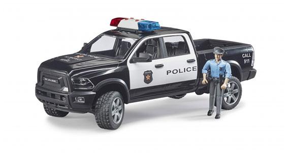 Politie Power Wagon met agent (02505)