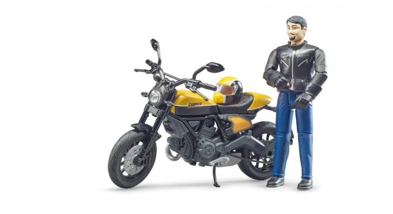 Bruder 63053 - Ducati Scrambler Full Throttle motor speelset