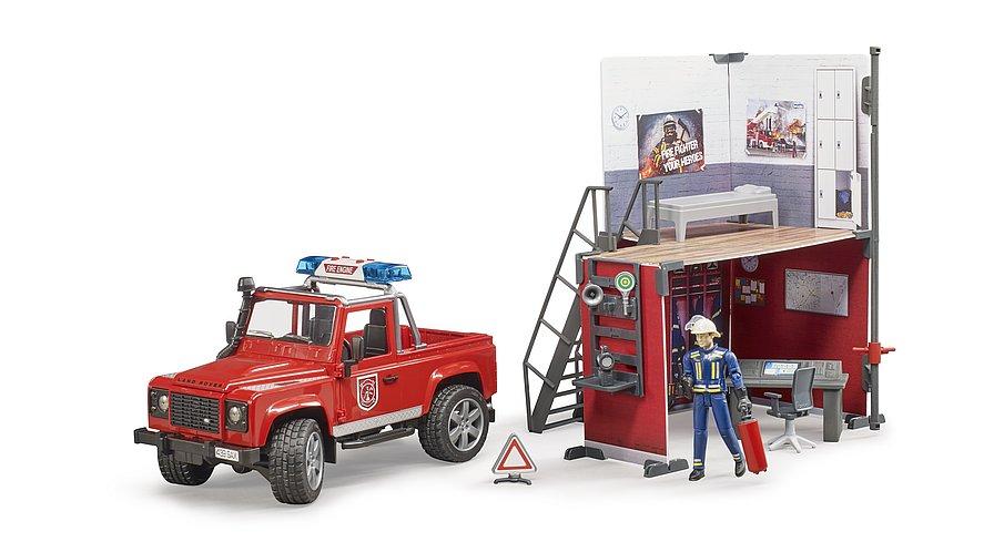 Bruder 62701 - Brandweer speelset
