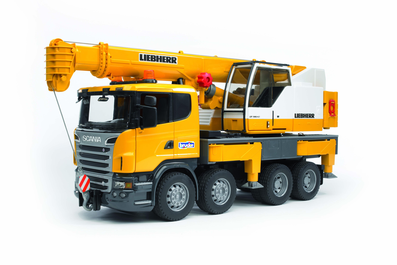 Scania R-serie Liebherr hijskraan (03570)