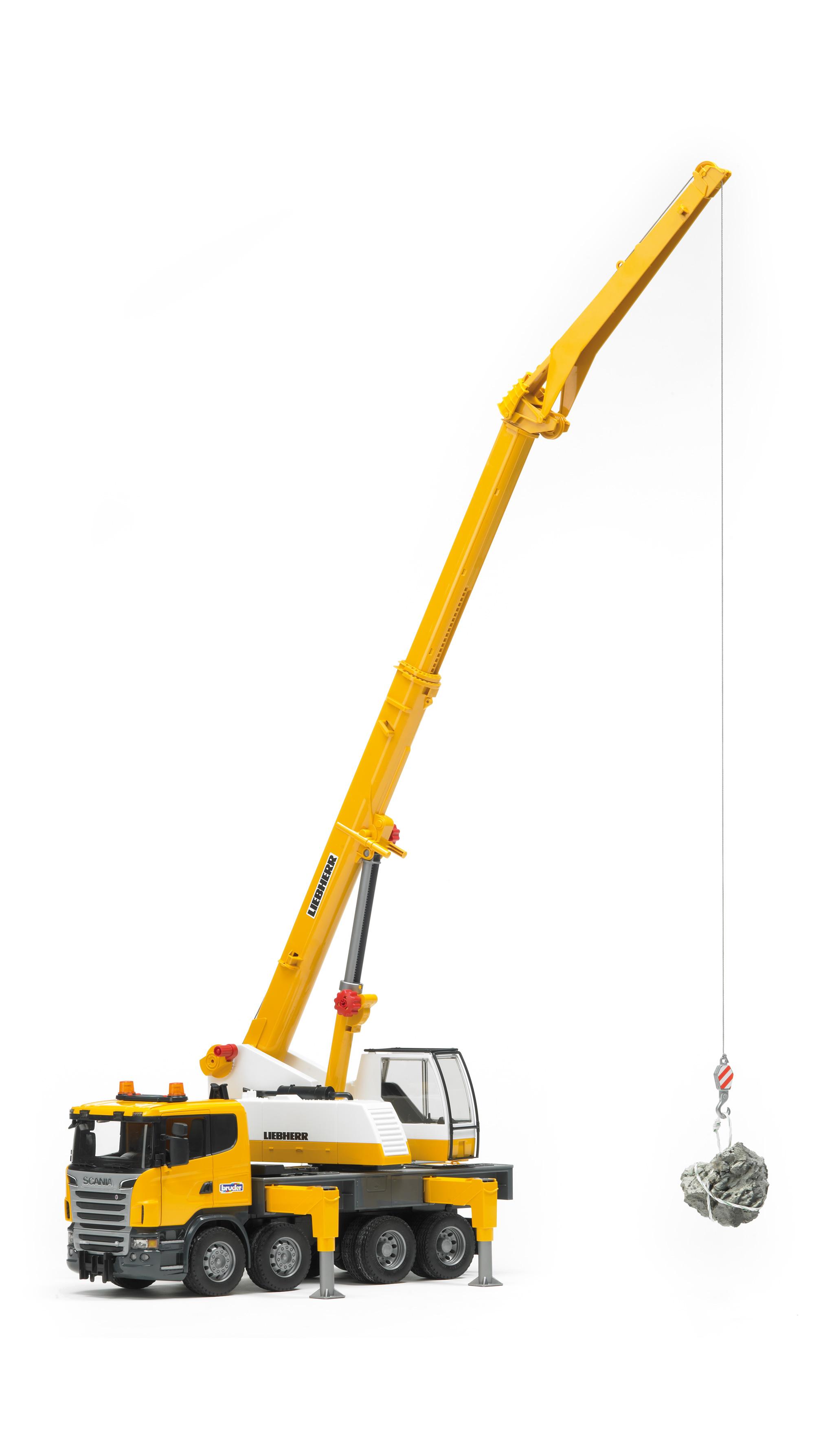 Bruder Scania Liebherr Hijskraan (03570) - 1