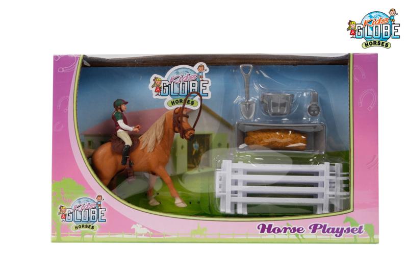 Paarden speelset - KidsGlobe horses