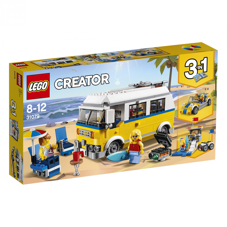 Zonnig surferbusje lego