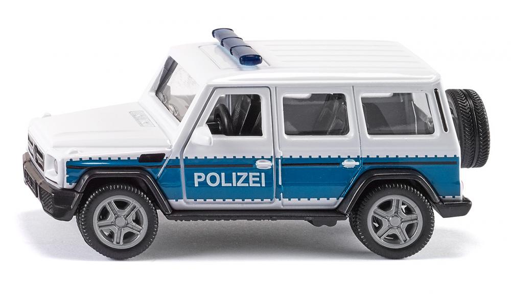 Mercedes AMG Bundespolizei auto