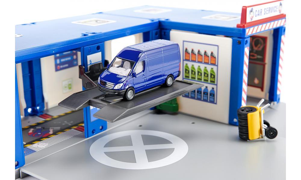 siku 5507 - Autogarage - Autowerkplaats