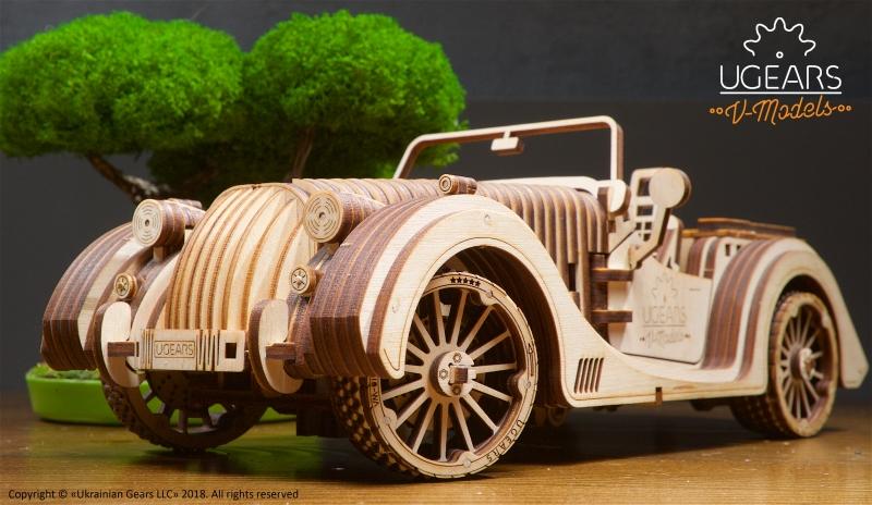 Ugears 70036 - Roadster