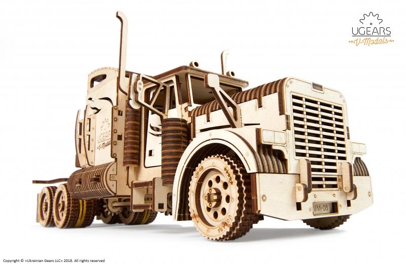 Ugears Heavy Boy Truck - 70038